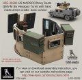 Live Resin[LRE35293]1/35  米特殊部隊用ハンヴィーGMV-M装甲銃塔(3)
