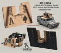 Live Resin[LRE35294]1/35  米特殊部隊用ハンヴィー装甲銃塔用SAG防循