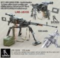 Live Resin[LRE35335]1/35 6P17 NSV-NSVS UTES - Soviet-Russian 12.7mm calibre heavy machine gun (Nikitin Sokolov Volkov) on 6T7 tripod with SPP(10P50) 3-6 scope