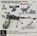Live Resin[LRM35338]1/35 6P60 KORD Russian 12.7mm calibre heavy machine gun on 6T19 bipod with 1PN93-4 night scope