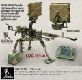 Live Resin[LRE35340]1/35 6P60 KORD Russian 12.7mm calibre heavy machine gun on 6T20 tripod with FARA VR weapon guidance radar