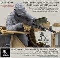 Live Resin[LRM35009]1/35  現用米海兵隊歩兵(4)MCTAGS銃塔用ガスマスク装着