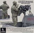 Live Resin[LRM35015]1/35  現用米特殊部隊(6)武装ピックアップ射手