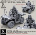 Live Resin[LRM35021]1/35 現用米特殊部隊(12)MV850ライダー