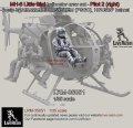 Live Resin[LRM35051]1/35 MH-6 Liitle Bird helicopter crew set - Pilot 1 equip by AIR WARRIOR SYSTEM (PSGC), HGU56/P helmet, correct to Kitty Hawk KH50004 MH-6 Little Bird