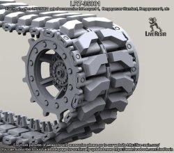 画像1: Live Resin[LRT35001]1/35  現用独 139E2 レオパルト1系列 連結可動履帯(178コマ)
