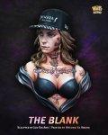 ナッツプラネット[NP-B037]1/10 胸像 タトゥーの女「ジ・ブランク」