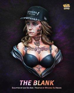画像1: ナッツプラネット[NP-B037]1/10 胸像 タトゥーの女「ジ・ブランク」