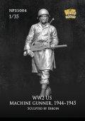 ナッツプラネット[NP-35004]1/35 WWII 米陸軍M1919射撃手 1944〜1945