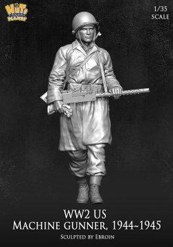 画像2: ナッツプラネット[NP-35004]1/35 WWII 米陸軍M1919射撃手 1944〜1945