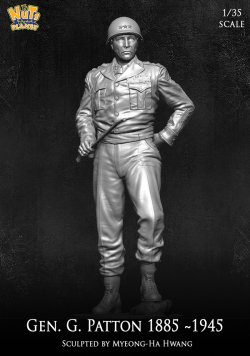 画像1: ナッツプラネット[NP-35005]1/35 WWII 米陸軍 G・パットン将軍