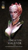 ナッツプラネット[SB011]1/10 バストモデル 地獄公爵ウァレフォル(胸像)