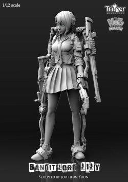 画像2: ナッツプラネット[T15005]1/12 盗賊団の若き女首領リリー