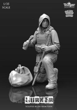 画像1: ナッツプラネット[T35008]1/35 ラーカー 火炎瓶で待ち伏せる男
