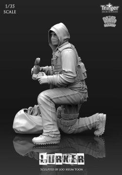 画像2: ナッツプラネット[T35008]1/35 ラーカー 火炎瓶で待ち伏せる男