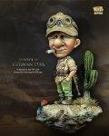 ナッツプラネット[NP-001]SDサイズ WWII独 ドイツアフリカ軍団 渋い顔の兵士