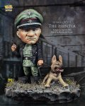 ナッツプラネット[NP-005]SDサイズ WWII独 ドイツ陸軍将校と荒ぶる猟犬