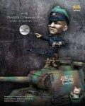 ナッツプラネット[NP-006]SDサイズ WWII独 独眼のドイツ戦車兵指揮官