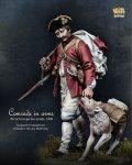 ナッツプラネット[NP-75001]1/24 近代 仏 フランス陸軍 兵士とその相棒~1790年~
