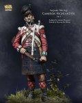 ナッツプラネット[NP-75002]1/24 近代 英 イギリス陸軍キャメロンハイランダーズ連隊 軍曹~1815年~