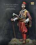 ナッツプラネット[NP-75003]1/24 中世トルコ オスマン帝国軍のトルコ歩兵
