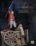ナッツプラネット[NP-75012]1/24 近代 仏 フランス革命 バリゲートの上で自由フランス旗を掲げる男