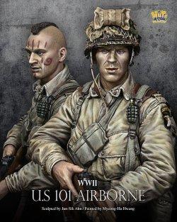 画像1: ナッツプラネット[NP-B007]1/10WWII米 第101空挺師団歩兵