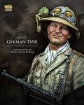 ナッツプラネット[NP-B015]1/10 WWII独 ドイツアフリカ軍団 兵士の帽子に留まるカメレオン