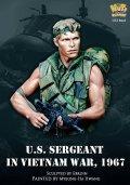ナッツプラネット[NP-B042]1/12 ベトナム戦争 米 胸像 米陸軍 哨戒任務に出る軍曹 ベトナム1967