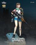 ナッツプラネット[T150001]1/12 狙撃ライフルを持つサイボーグ少女 ベルフォード