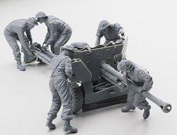 画像2: リッチモデル[RC35044] 1/35 英・QF6ポンド対戦車砲・砲移動中兵員5体