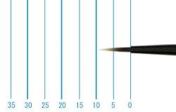 画像1: インターロン画筆 1026 1/0号(ラウンド・短軸)
