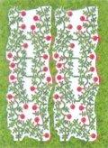 プラッツ/ノッホ [MDL-5]多目的ジオラマ素材シリーズ レーザーカット植物 つるバラ(花径1.5mm)