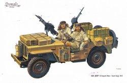 画像1: SWASH DESIGN[DR01]SAS/LRDG Jeep Converion Set No.1