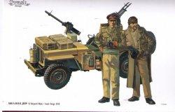 画像1: SWASH DESIGN[DR02]SAS/LRDG Jeep Converion Set No.2