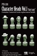 SWASH DESIGN[FTH-3201]Character Heads vol.1