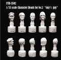 SWASH DESIGN[FTH-3502]Character Head Set No.2 (1/35)