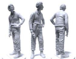 画像2: SWASH DESIGN[ST-3514]WW2 US TANK CREW