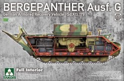 画像1: タコム[TKO2107]1/35 Sd.Kfz.179 ベルゲパンター G型 戦車回収車w/フルインテリア