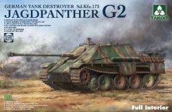 画像1: タコム[TKO2118]1/35 ドイツ重駆逐戦車 Sd.Kfz.173 ヤークトパンターG2w/フルインテリア