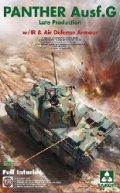 タコム[TKO2121]1/35 パンター G型 後期型 w/赤外線暗視装置 & 対空追加装甲(フルインテリアキット)
