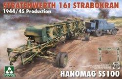 画像1: タコム[TKO2124]1/35 シュトラーテンヴェルト社 16tガントリークレーンw/ハノマーグSS100 トラクター 1944/45年生産