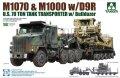 タコム[TKO5002]1/72 M1070 & M1000 70トン戦車運搬車w/D9Rブルドーザー