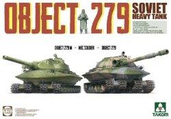 画像1: タコム[TKO5005]1/72 オブイェークト 279 ソ連重戦車 (2輌セット)