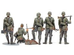 画像2: タミヤ[TAM35371]1/35 ドイツ歩兵セット (大戦中期)