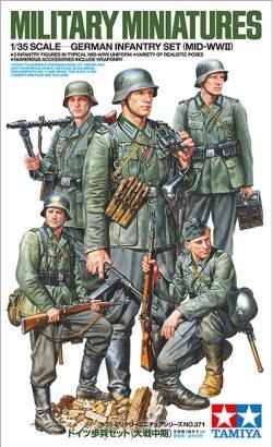 画像1: タミヤ[TAM35371]1/35 ドイツ歩兵セット (大戦中期)