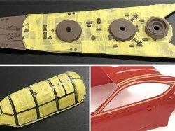 画像3: タミヤ マスキングテープ 3mm