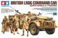 タミヤ[TAM32407]1/35 イギリス LRDGコマンドカー 北アフリカ戦線(人形7体付き)