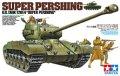 タミヤ[TAM25138] 1/35  アメリカ戦車 スーパーパーシング T26E4(ウェザリングマスター付き)