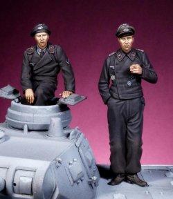 画像1: The Bodi[TBO35157]1/35 WW.IIドイツ戦車/自走砲兵 セット